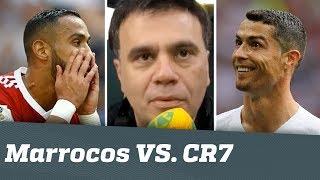 Marrocos foi GRANDE, mas CR7 é MAIOR   Mauro Beting