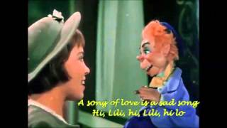 """Hi, Lili, hi Lo"" - LESLIE CARON (Lyrics on)"