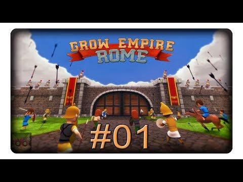 Ähnliches Spiel Wie Grow Castle #01 || Let's Play Grow Empire: Rome | Deutsch | German