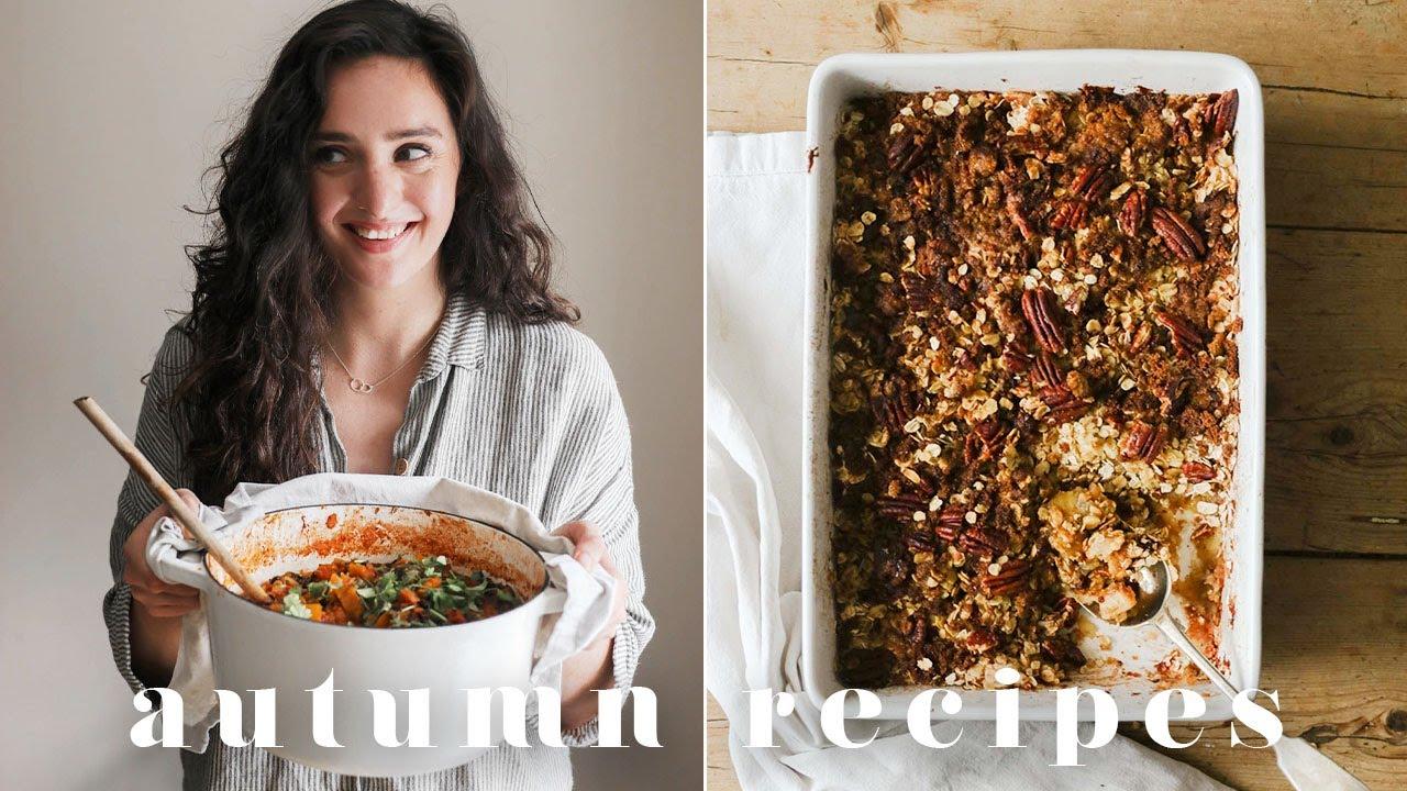 ONE POT/TRAY VEGAN AUTUMN & WINTER MEALS | 4 Cosy & Yummy Recipes