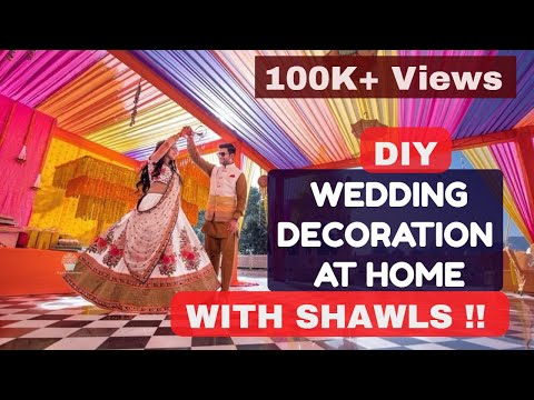 diy-zero-cost-wedding-decor-using-dupattas-!!-desi-style-swaggg-!!
