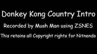 Donkey Kong Country Music - Main Theme (MP3 Available!)