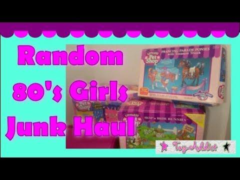 Random 80's Girls Junk Haul ~ Littlest Pet Shop, Fisher Price, Puppy In My Pocket ~ Toy-Addict