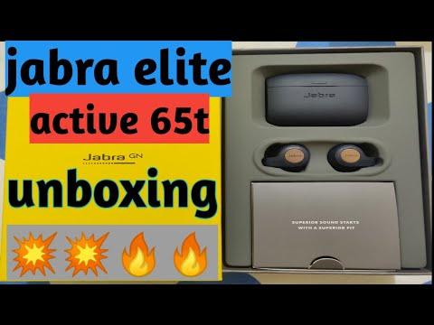 {HINDI} Jabra elite active 65t unboxing {INDIA}