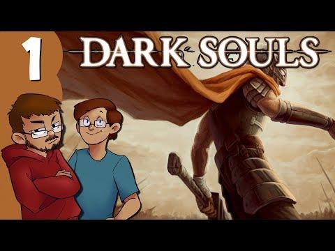 Let's Play | Dark Souls - Part 1 - Asylum Demon and Undead Burg