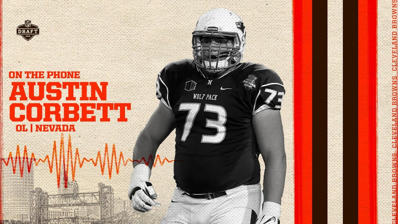pretty nice 6bc77 b45c1 2018 NFL Draft: Austin Corbett Conference Call | Cleveland Browns