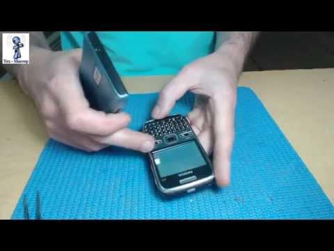 Замена дисплея на Nokia E72 и нежданчик во время работы