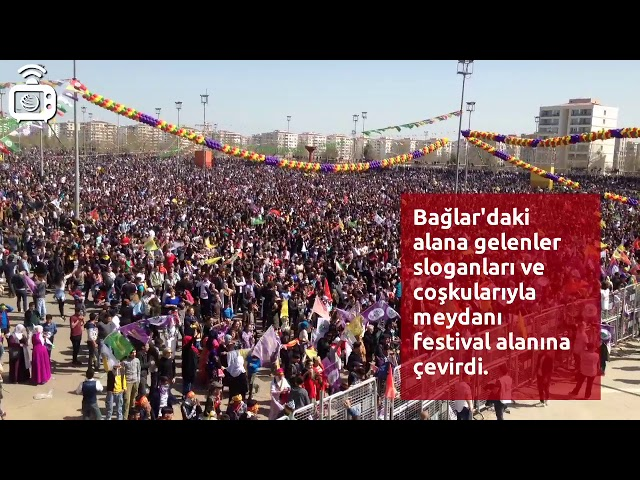 Diyarbakır Newroz alanı festival yeri gibi
