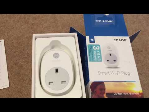 TP Link Smart Wi-Fi Plug HS100 Unboxing + Review
