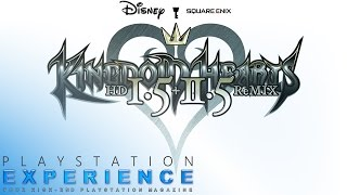 KINGDOM HEARTS HD 1.5 + 2.5 ReMIX für die PS4 (Pro) im Test ★ PlayStation Experience