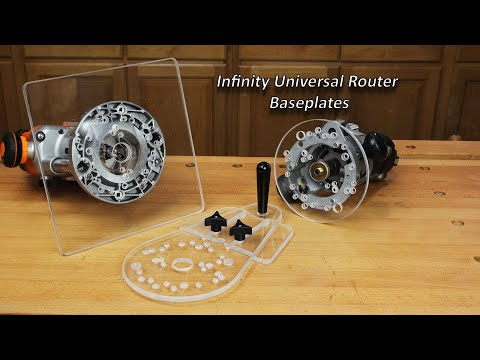 Infinity Tools Universal Baseplates for Full-Sized Routers