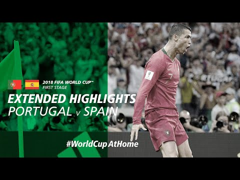 #WorldCupAtHome | 2018 FIFA World Cup™ | Portugal 3-3 Spain [Extended Highlights]