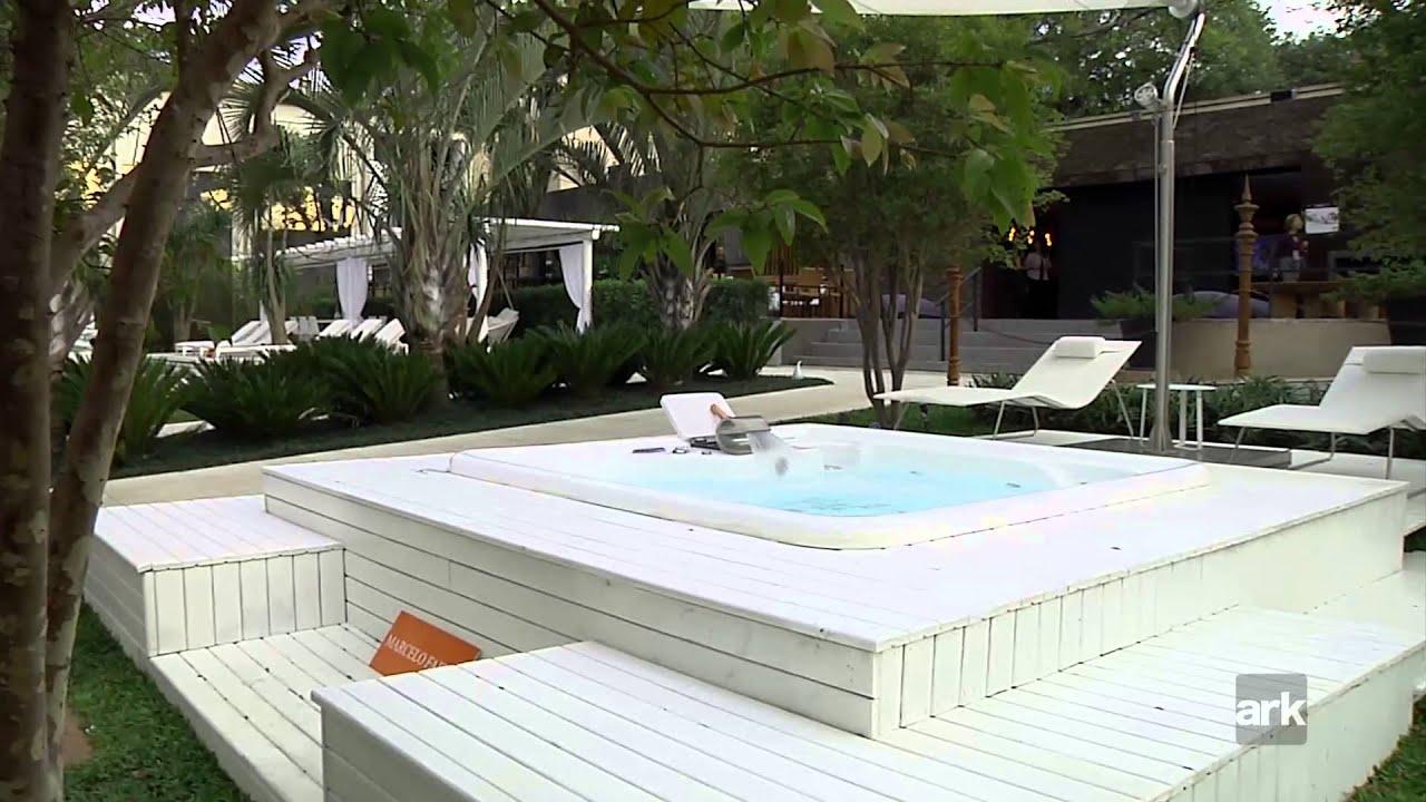Pra a casa cor jardim da piscina por marcelo faisal na for Jardim na piscina