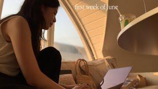 (Eng.) 6월 일상. 잘 먹고 다닌 일주일. 이제 일을 찾아나서보자 … ☾ 🌳 #vlog