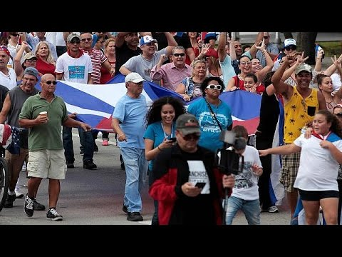 Sorrow and celebration - mixed reactions to Castro death