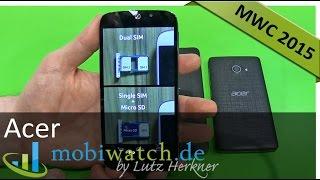 Dual-SIM-Smartphones mit Textur-Rücken: 3 Neuheiten von Acer – Hands-on