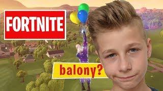 Fortnite na żywo - Balony?! ☛ 500 łapek i gram z Widzami !