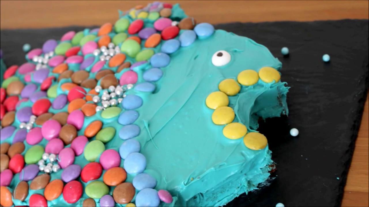 Regenbogenfisch Kuchen Kindergeburtstag Kinderkram 2 Youtube