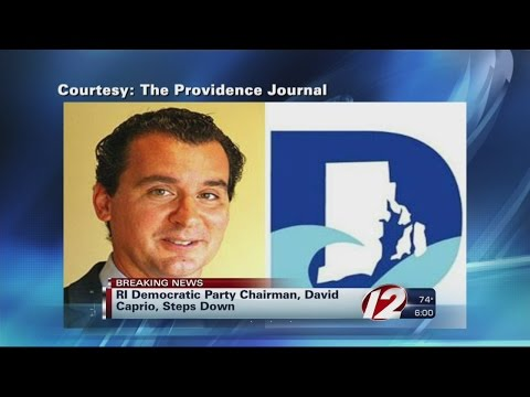 David Caprio resigns as RI Democratic Party chairman
