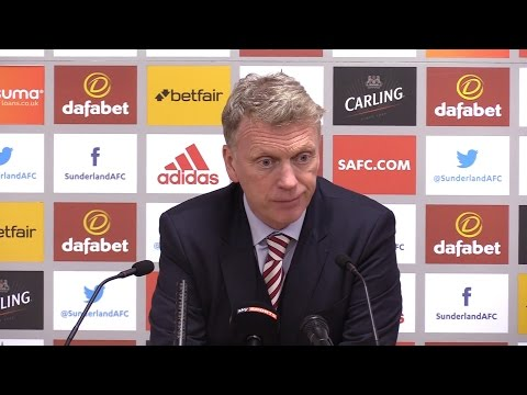 Sunderland 0-2 Manchester City - David Moyes Full Post Match Press Conference