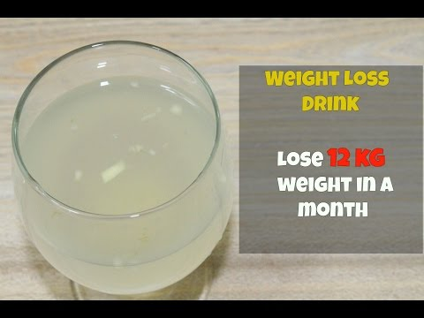 Magical Potion To Lose Weight In One Month – Easy & Effective Fat Cutter Drink