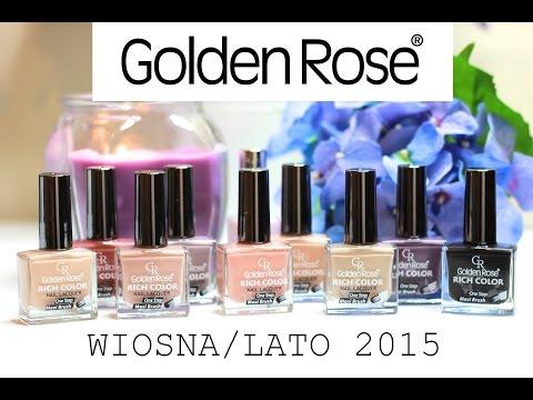 Golden Rose - Lakiery Rich Color Wiosna/Lato