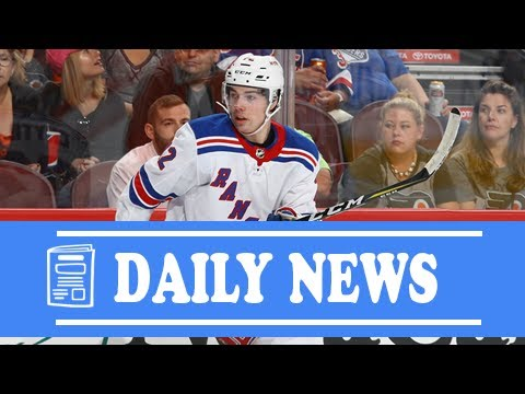 Daily News  Filip chytil  18-year-old rookie makes rangers  opening-night  roster 433563a71