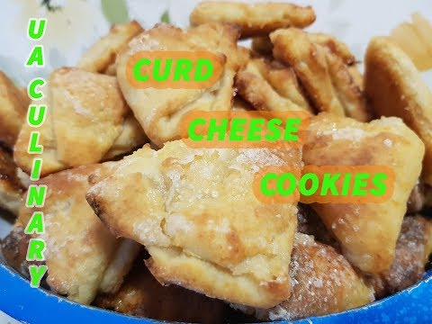 Curd Cheese Cookies. Learn to cook Ukrainian dishes with me!)