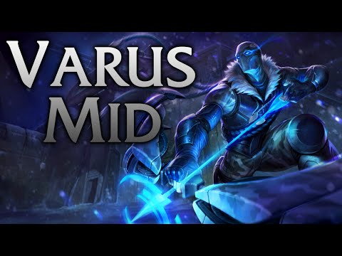 League of Legends | Arctic Ops Varus Mid - Full Game Commentary