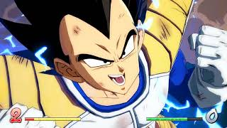 DRAGON BALL FighterZ base vegeta and goku gameplay(PC)[HD]