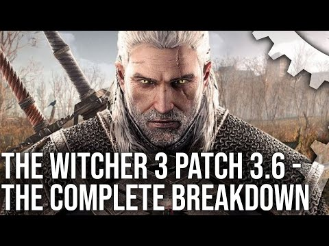 The Witcher 3 Switch Patch 3.6: PC Cross Save Support, Graphics Options + Performance Tests!
