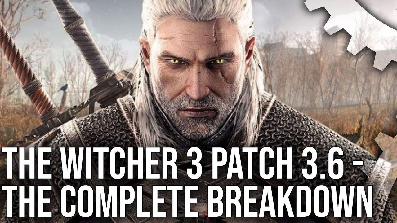 Το Digital Foundry αναλύει το μεγαλειώδες Witcher 3 update!