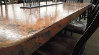 Cool Copper Dining Room Table At Jb's Furniture