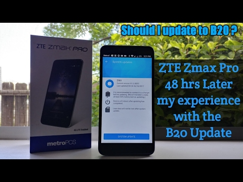 thumb because zte zmax pro youtube mistake: