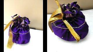 How to Make Potli Bag at Home | Potli Bag Making | Handmade Bags | Banjara Bags Making | UMA