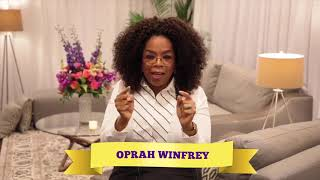 A Very Special Message from OPRAH