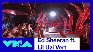 Ed Sheeran & Lil Uzi Vert 360° Performance of 'Shape of You' & 'XO Tour Llif3' | 2017 VMAs | MTV