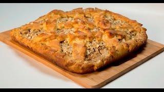 Творожный пирог с яблоками  | Теле-теле-тесто