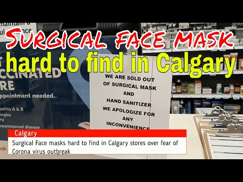 surgical-face-masks-hard-to-find-in-calgary-stores-#covid-19