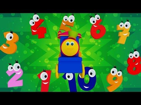 Паровозик Боб – Песня про цифры