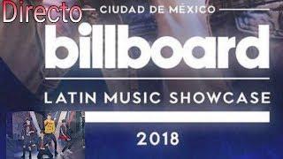 Billboard latin Music showcase 2018 en vivo