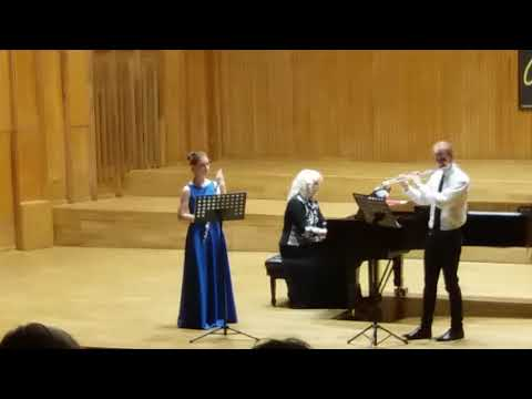 Kuhlau Trio For Two Flutes And Piano Op.119 1st Movement