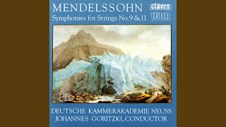 Symphony for Strings No. 11 in F Major: IV. Menuetto. Allegro moderato