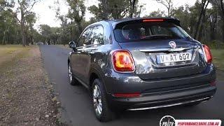 2016 Fiat 500X 1.4T (FWD) 0-100km/h & engine sound