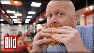 """""""Five Guys"""" - Lohnt sich ein Burger für 9,95 Euro? Der Test"""
