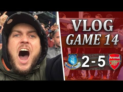 EVERTON 2 v 5 ARSENAL - THAT'S THE BEST WE HAVE PLAYED THIS SEASON - MATCHDAY VLOG