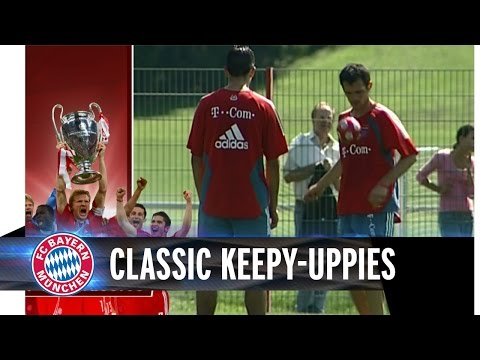 Keepy-Uppies with Scholl, Sagnol, Makaay & Co.