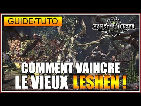 GUIDE/TUTO - COMMENT VAINCRE LE VIEUX LESHEN - MONSTER HUNTER WORLD - FR thumbnail