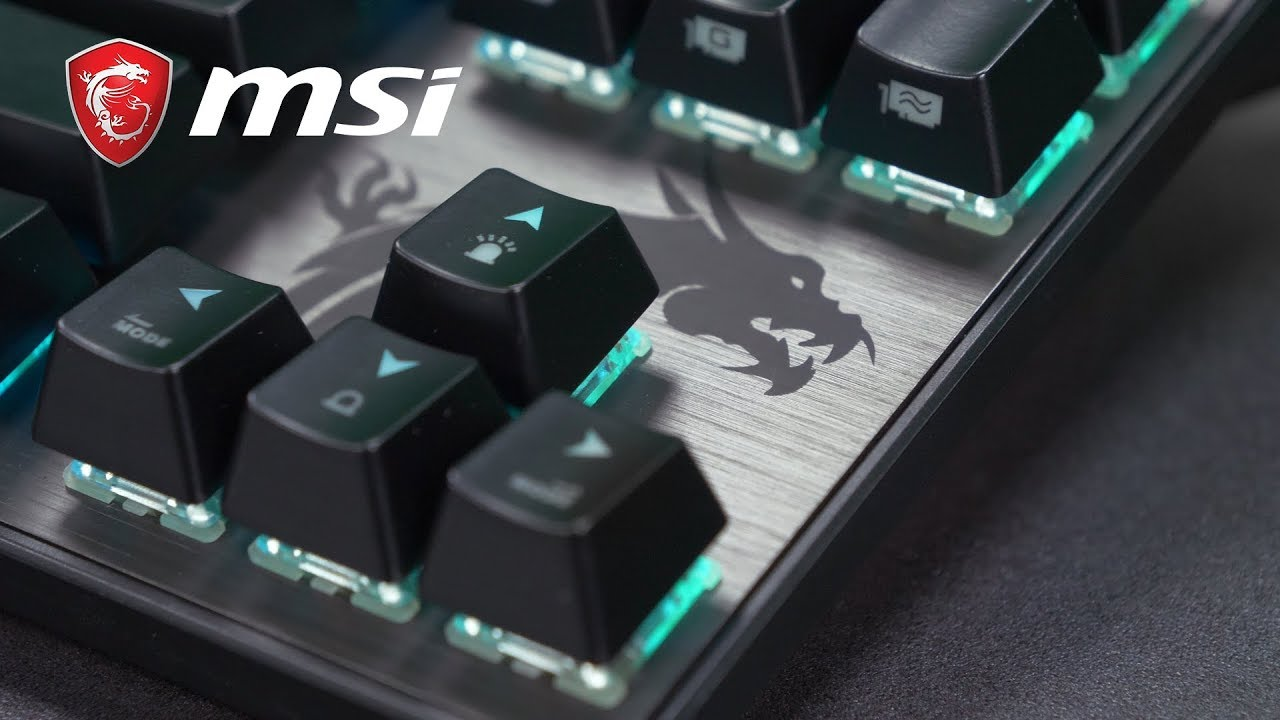 MSI VIGOR GK70, a TKL Mechanical Gaming Keyboard