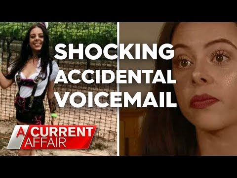 Job recruiter accidentally leaves shocking voicemail | A Current Affair